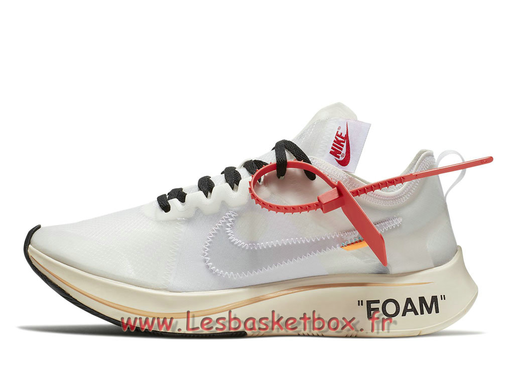 The 10 Nike Zoom Fly x Off-White The Ten AJ4588_100 Chaussures Nike SportWear Pour Homme Blanc
