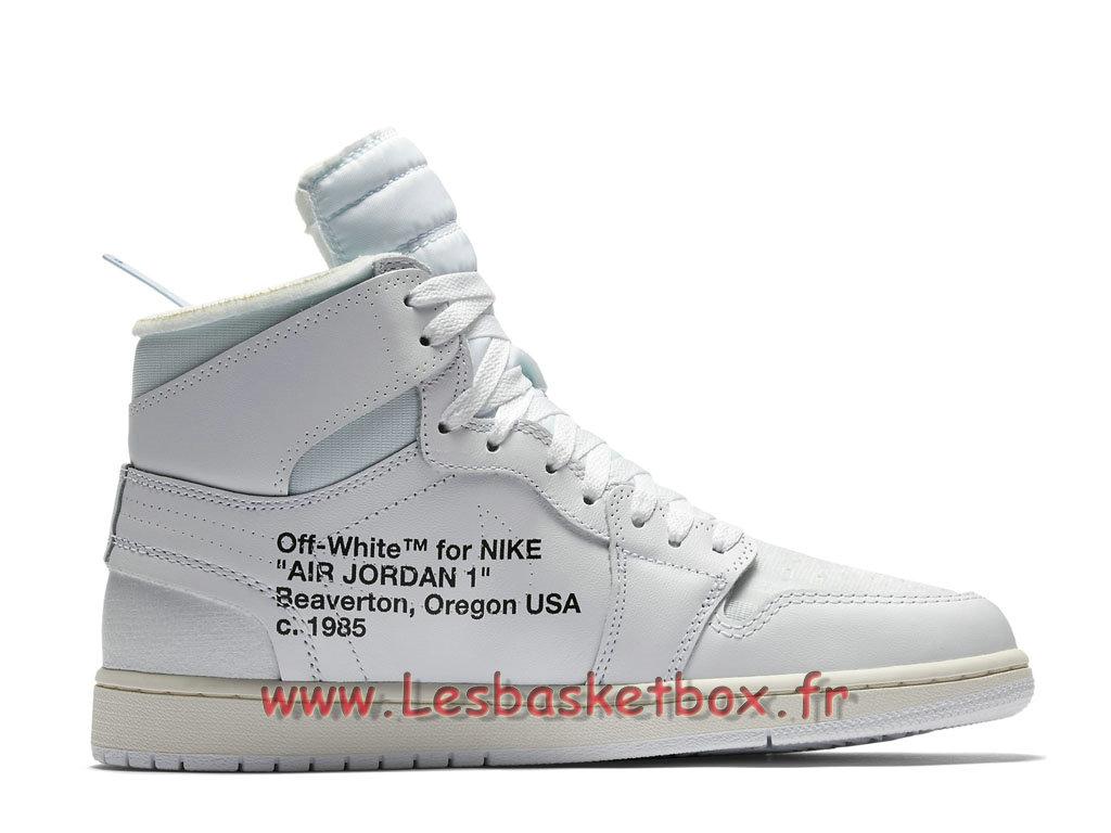 énorme réduction 08324 15540 The 10 Off-White x Air Jordan 1 White AQ0818_100 Chaussures Basket Nike  Pour Homme Blanc - 1804231483 - Officiel Nike Basket Pour Homme Et Femme A  ...