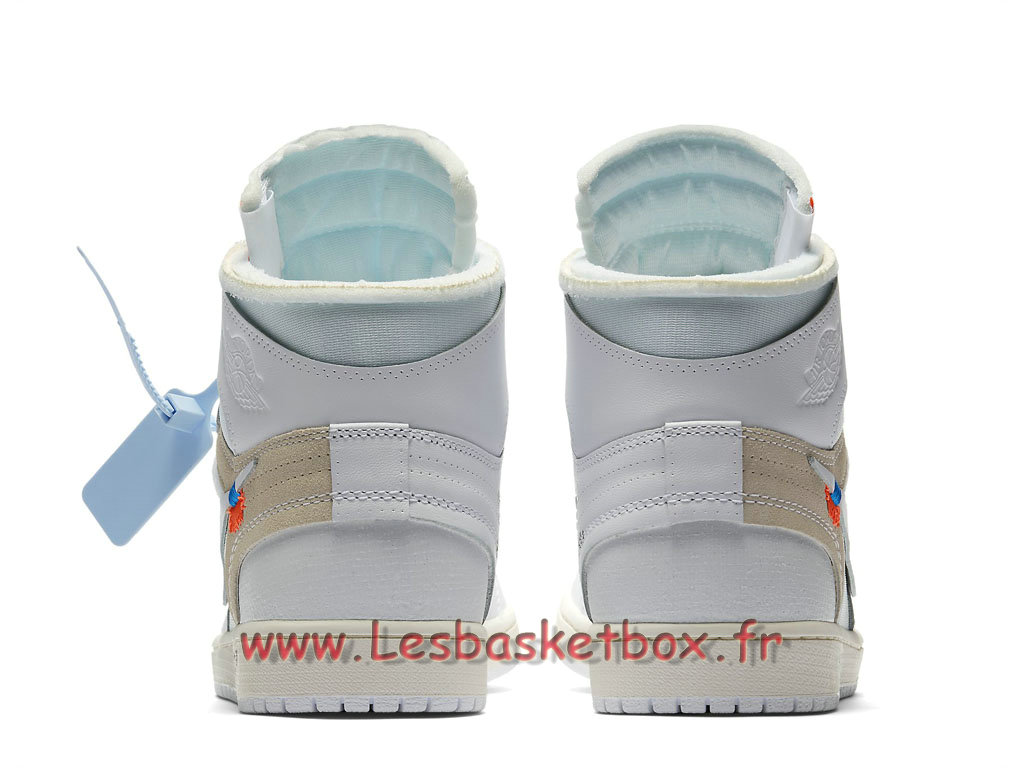 the best attitude 11ae8 be2f6 ... The 10 Off-White x Air Jordan 1 White AQ0818 100 Chaussures Basket Nike  Pour Homme