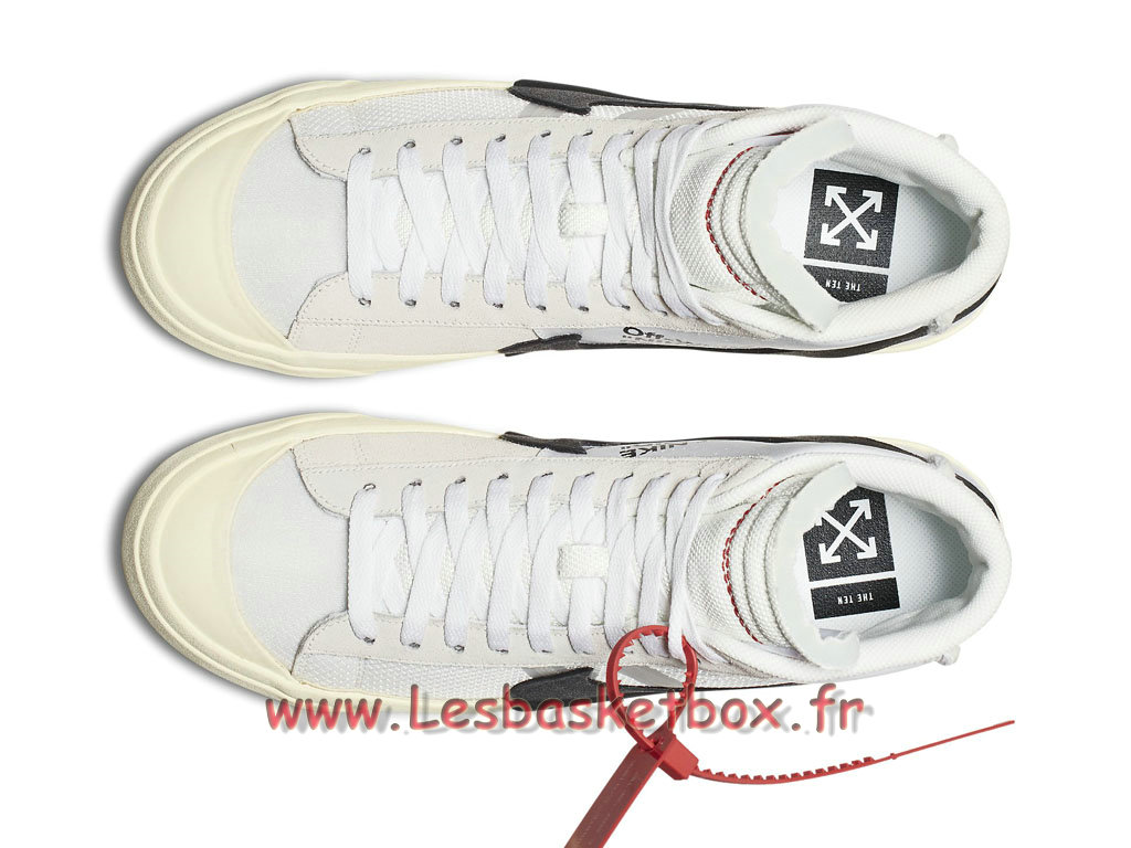 1ee69952de47 ... The 10 Off White x Nike Wmns Blazer Mid 10X AA3832 100F Chaussures NIke  Pirx Pour Femme ...